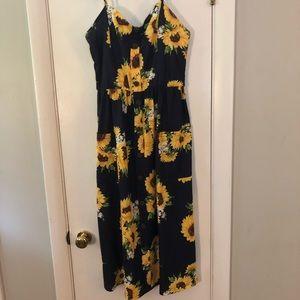 Dresses & Skirts - FUN Sunflower Dress, M/L